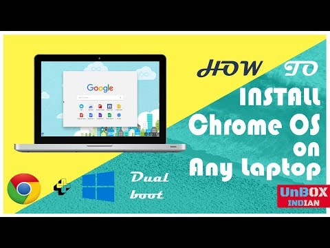 How To Install Chrome OS On  PC & Laptop