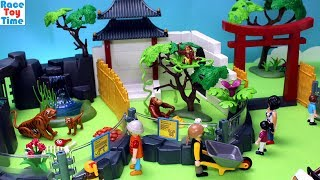 Playmobil Asian Animals Zoo Playset - Fun Animal Toys Video For Kids
