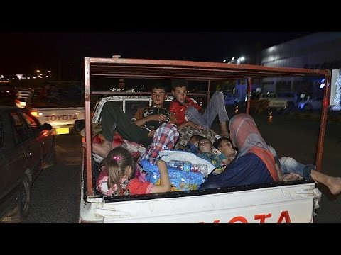 Iraq: Mass exodus from militant-held Mosul