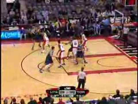 Toronto Raptors vs Utah Jazz Nov.14/07 Video