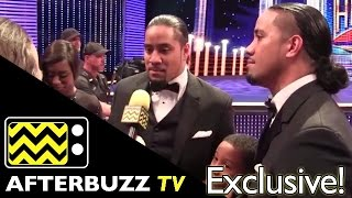 WWE's Jimmy & Jey Uso @ 2015 WWE Hall of Fame | AfterBuzz TV