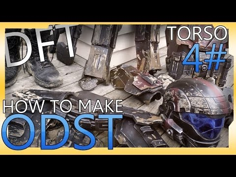 How To Make : ODST Costume - Torso Armor 4#