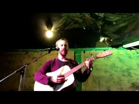 Barnaby Bennett - Old Cottage Home (Carter Family cover) Live in London Feb 11 2013