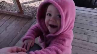 Vlog 201 ll Công Viên Vui Chơi Trẻ Em Ở Mỹ Không Có 1 Bóng Người Chỉ Có Bé Này