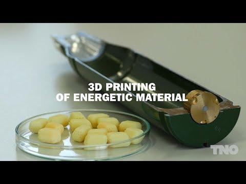 Ammunition from a printer