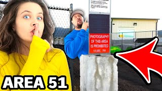 Playing Hide & Seek At Area 51 (CRAZY REACTION)