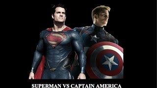 Superman vs Captain America Fan Trailer