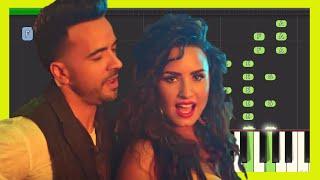Download Lagu Luis Fonsi, Demi Lovato - Échame La Culpa - Piano Tutorial / Cover Gratis STAFABAND