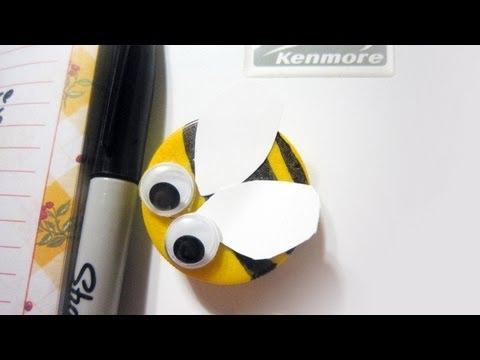 Cómo hacer sellos de goma eva o foami
