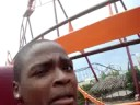 Riding The Raging Bull at Six Flags Great America