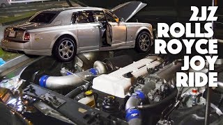 The 2JZ Swapped Rolls Royce Phantom
