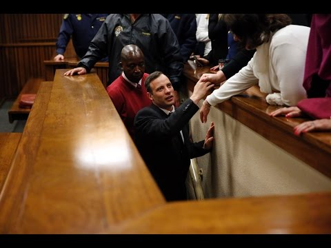 Oscar Pistorius sentenced to six years