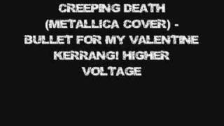 Creeping Death Metallica Cover - Bullet For My Valentine