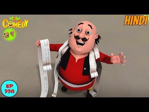 Ek Jinn Do Malik  - Motu Patlu in Hindi - 3D Animated cartoon series for kids thumbnail