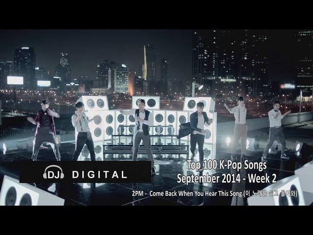 Top 100 K-Pop Songs for September 2014 Week 2