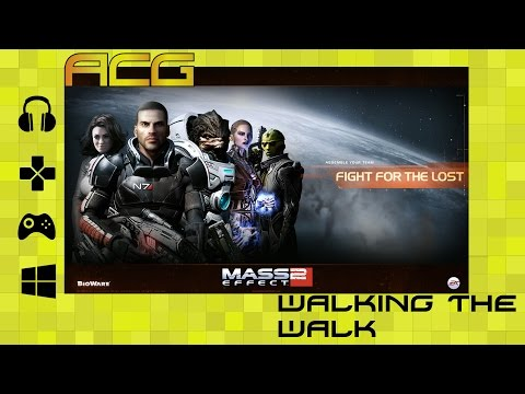 Walking the Walk - Mass Effect 2 Part 1 Design and Art Discussion