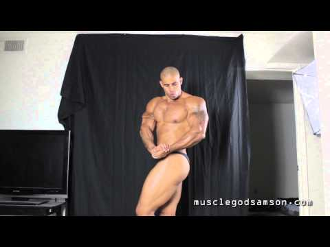 Muscle God Samson's 1st Bodybuilding Contest Prep Week 1