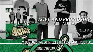 MOTION RANGERS - COTTE SUMMER FEST ( MINI ALBUM LOVE AND FRIENDSHIP )