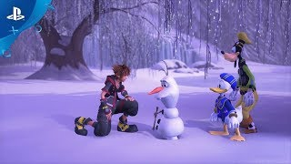 Kingdom Hearts III – E3 2018 Frozen Trailer | PS4