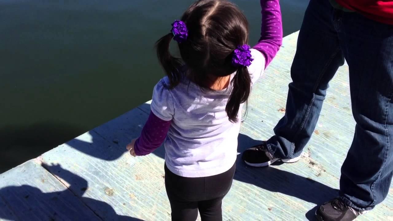Fishing at Harveston Lake