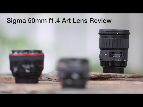 Sigma 50mm f/1.4 Art Series Lens vs Canon 50 f1/.2 and f//1.4
