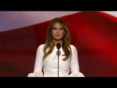 Melania Trump Republican National Convention Speech 7/18/16