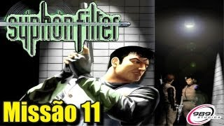 Detonado Syphon Filter 1 (PS1) - Missão 11 - Base Escape - (Fugindo da Base)