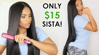 $15 Synthetic Wig that can take HEAT! CHEAP AF! Issa Dub or Nah?? 3.12 MB