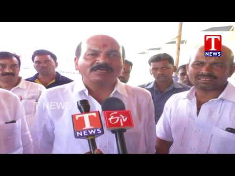 MLA Chinta Prabhakar Lanches Grain Purchase Centers | Sangareddy | TNews Live Telugu