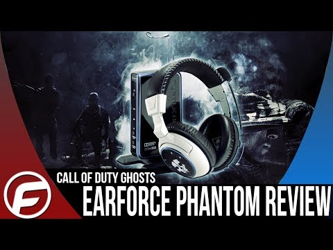 Call of Duty Ghosts EAR FORCE PHANTOM REVIEW Wireless Gaming Headset TURTLE BEACH