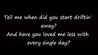 Download Lagu When Did You Stop Loving Me Hunter Hayes lyrics Gratis STAFABAND