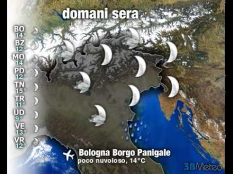 Meteo ITALIA del 06/10/2011