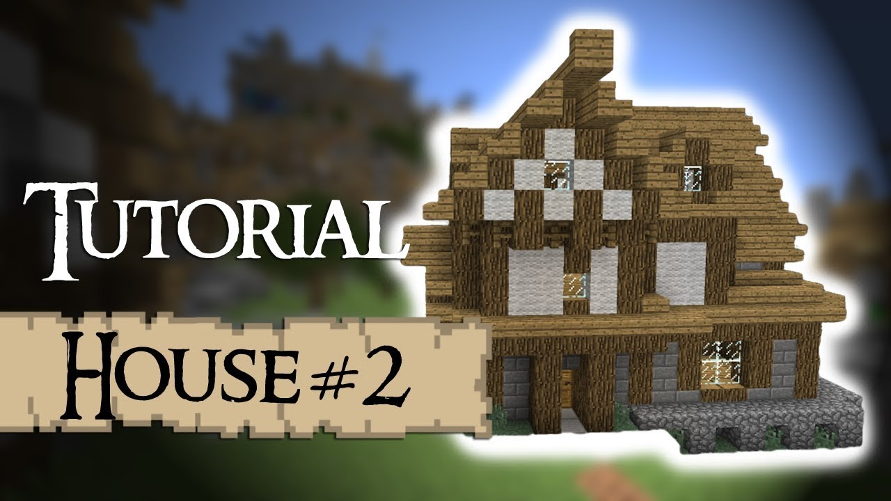 Minecraft tutorial how to build a medieval house version for How to build my house
