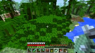 Minecraft- How To Tame A Ocelot [EP.1]