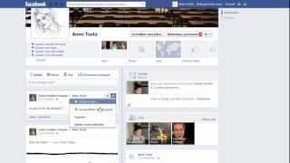 Vidéo expliquant comment configurer Facebook