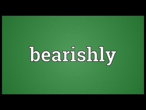 Header of bearishly