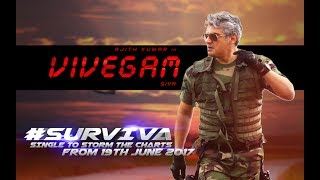 Vivegam - Surviva Song Teaser