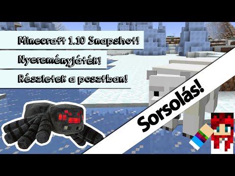 Minecraft Pók Plüss - Facebook Nyereményjáték - Sorsolás!