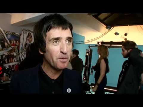 Johnny Marr at the NME Awards 2012