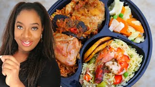 *OMG* MY 1st ONLINE DINNER WITH REAL FOOD!!!