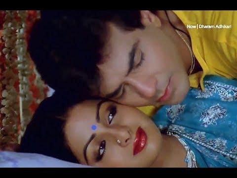 Шридеви & Джитендра с песней Ek To Kam Zindagi из к/ф Dharm Adhikari (1986)