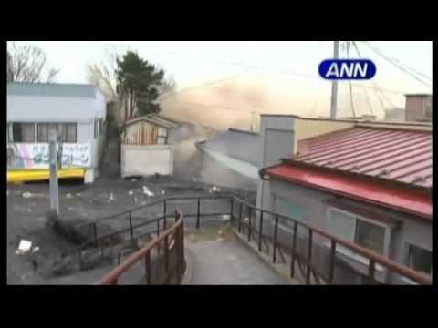 Destructive Japan tsunami caught on film