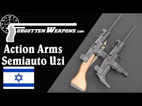 Action Arms Semiauto Uzi Carbines (Model A and Model B)