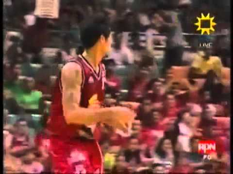 Ronald Tubid's Fearless Attack...8-0 Run Quarterfinals Do-or-die Vs. Alaska.flv video