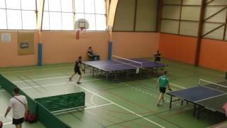 Ultimate ping - Demi finale du tournoi de Brécé 2017 entre Dupuy (N669) et Prime (N190)