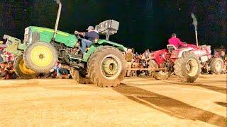 john deere 5310 vs mahindra 555 || tractor tochan