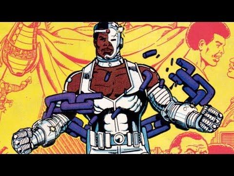Superhero Origins: Cyborg