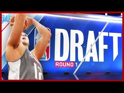 ДРАФТ НБА!! ИДУ НА ПЕРВЫЙ ПИК! ● NBA LIVE 18 DEMO | The One: Chapter 6&7