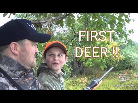 Michigan 2014 youth hunt first deer