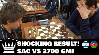 Kid defeats 2700 Grandmaster with Queen sacrifice!